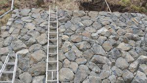 下段石積み完了3